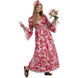 Women's Hippie Costume - Make It Up Costumes