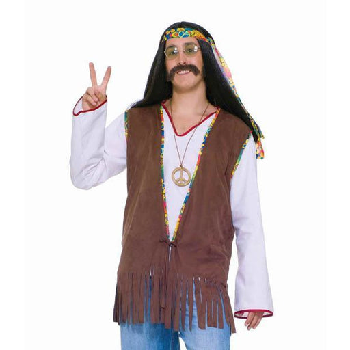 Fringed Hippie Vest for Men - Make It Up Costumes