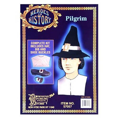 Pilgrim Costume Kit - Make It Up Costumes