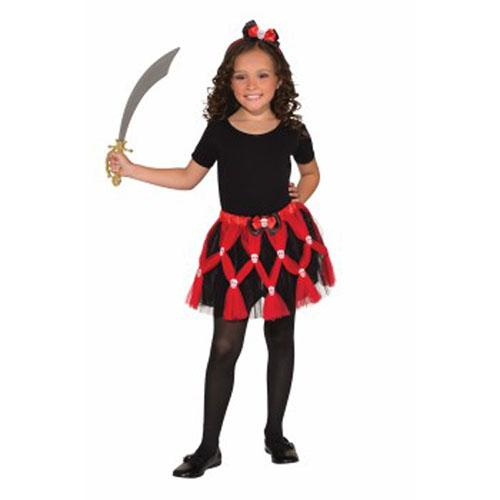 Girl's Pirate Tutu Set - Make It Up Costumes