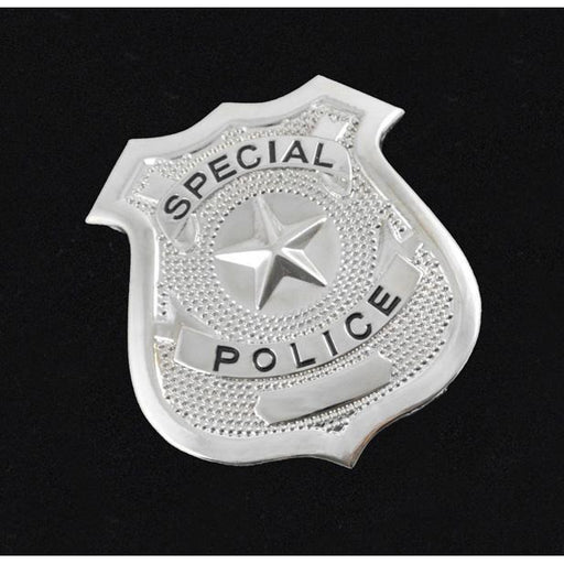 Deluxe Fake Police Badge - Make It Up Costumes