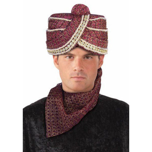 Maharaja Turban Hat - Make It Up Costumes