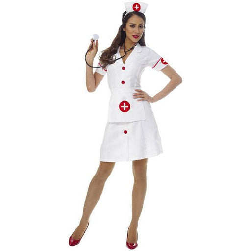 Classic Nurse Costume for Women - Make It Up Costumes
