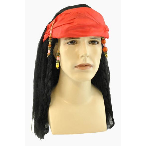 Men's Pirate Wig - Make It Up Costumes