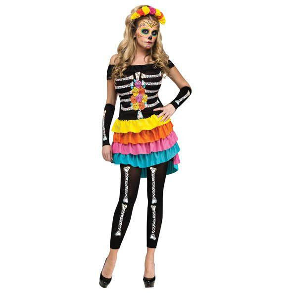 Female Day of the Dead Costume - Make It Up Costumes