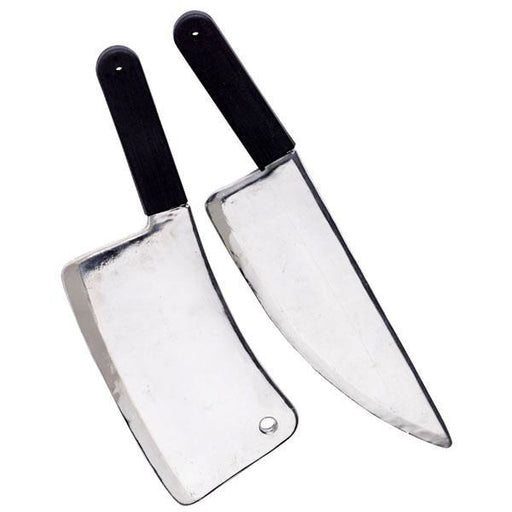 Butcher Knife and Meat Cleaver Prop - Make It Up Costumes