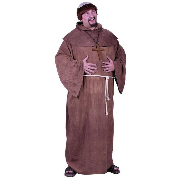 Medieval Monk Costume- Plus Size - Make It Up Costumes
