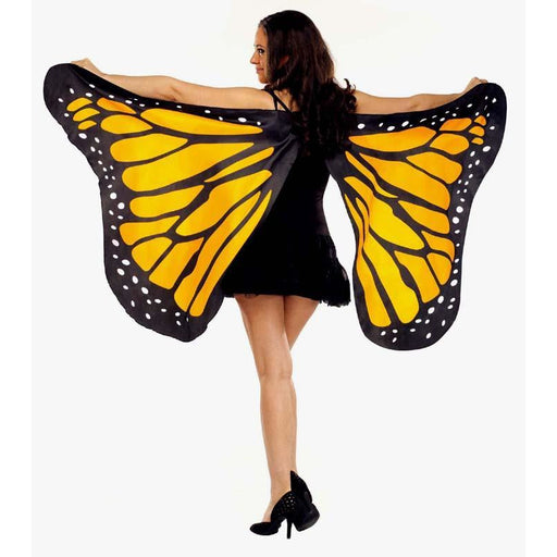 Orange Butterfly Costume Wings for Adults - Make It Up Costumes
