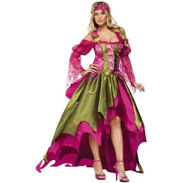 Women's Renaissance Fairy Costume - Make It Up Costumes