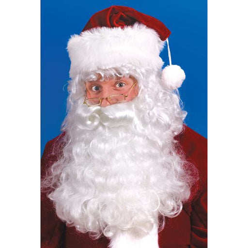 Discount Santa Wig and Beard Set - Make It Up Costumes