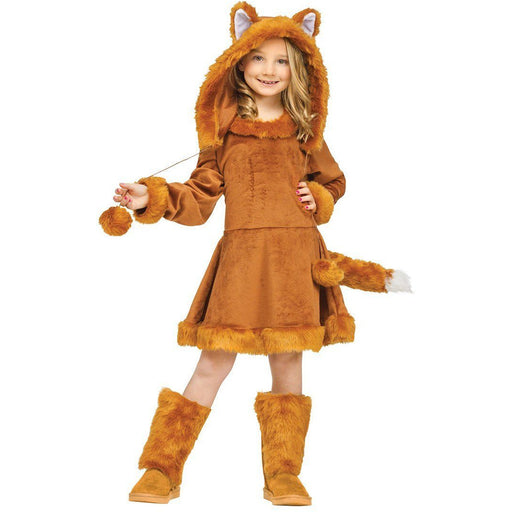 Girl's Sweet Fox Costume - Make It Up Costumes