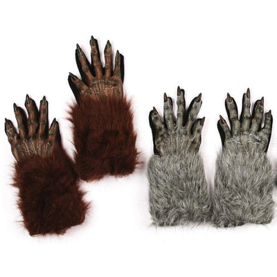 Werewolf Costume Gloves - Make It Up Costumes
