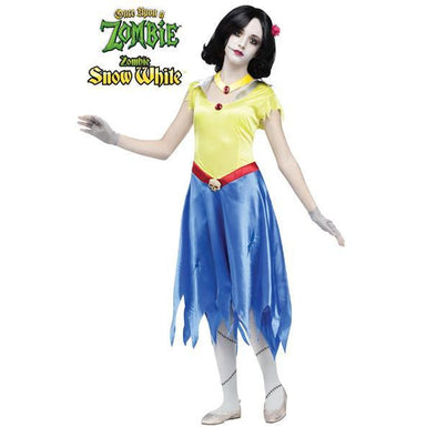 Once Upon a Zombie Snow White Costume - Make It Up Costumes