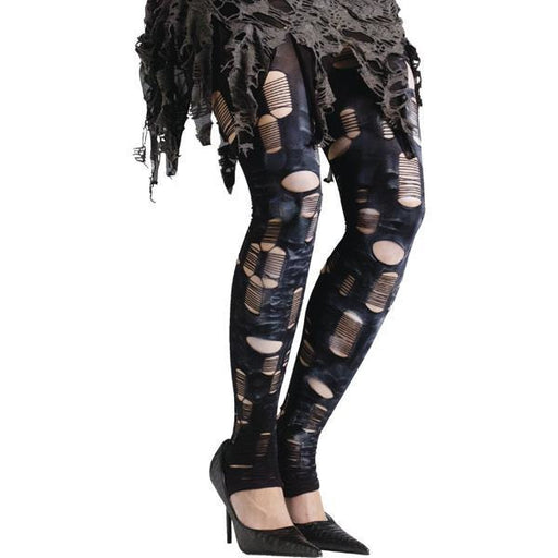 Zombie Tatter Tights - Make It Up Costumes