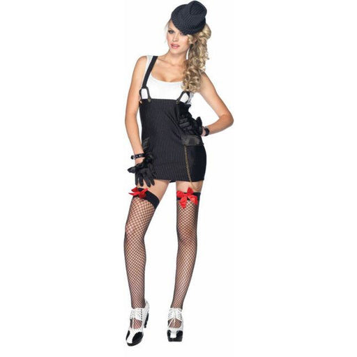 Gangster Girl Adult Costume - Make It Up Costumes