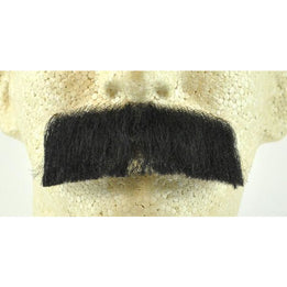 Classic Fake Mustache CM-09 - 100% Human Hair - Make It Up Costumes