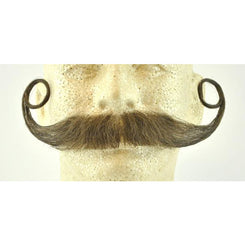 Fake Piper Handlebar Mustache CM11 - Make It Up Costumes