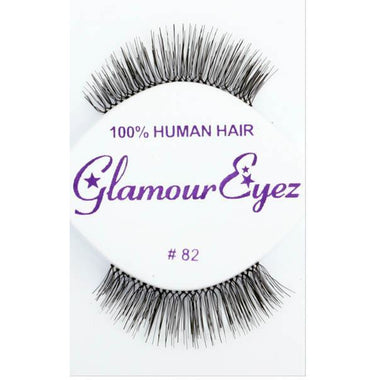 Reusable Natural Looking Black Lashes - #82 - Make It Up Costumes