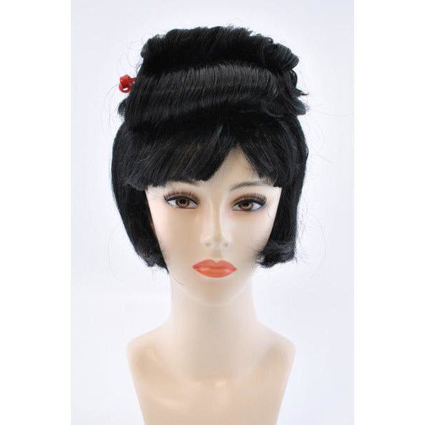 Womens Geisha Bob Wig - Make It Up Costumes