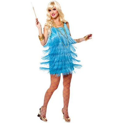 Flapper Dress-Bright Neon Colors - Make It Up Costumes