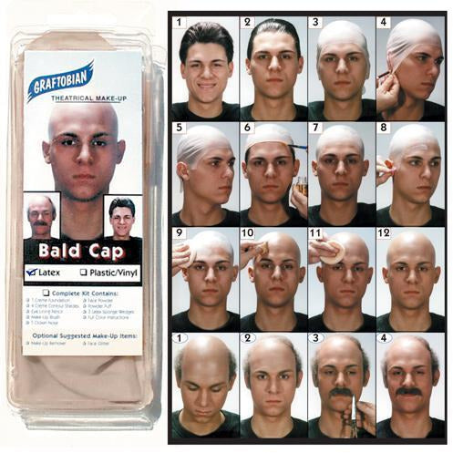 Graftobian Bald Cap - Make It Up Costumes
