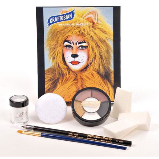 Graftobian Cat Costume Makeup Kit - Make It Up Costumes