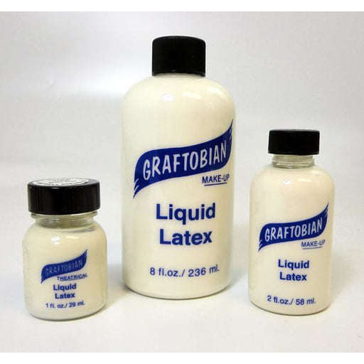 Graftobian Clear Liquid Latex - Make It Up Costumes