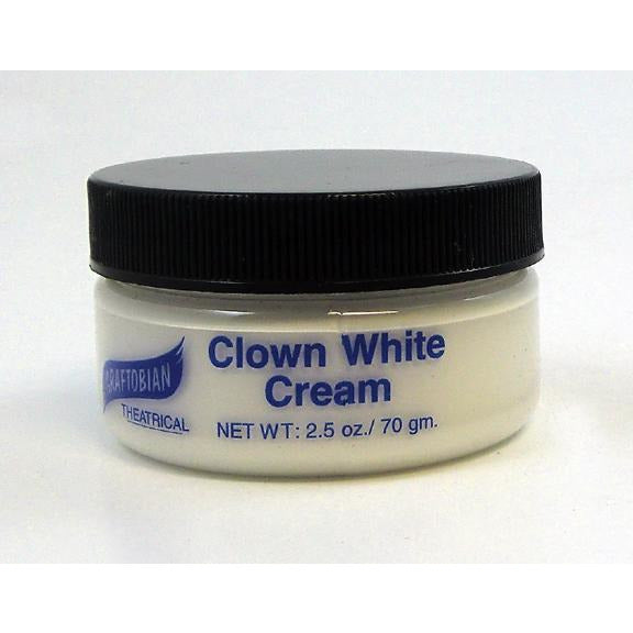 Graftobian Clown White Crème Foundation - Make It Up Costumes