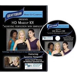 Graftobian HD Makeup 101 DVD - Make It Up Costumes