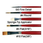 Graftobian Face Painting Brushes - Make It Up Costumes