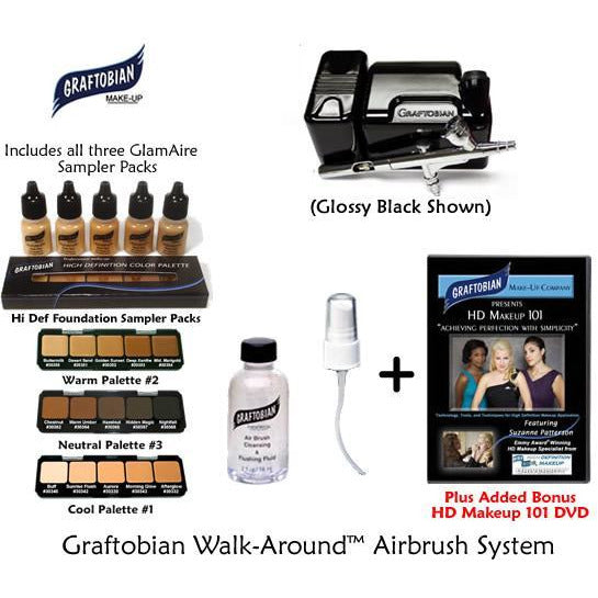 Walk-Around GlamAire Airbrush Makeup System - Make It Up Costumes