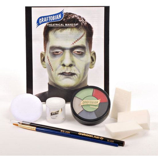 Graftobian Monster Makeup Kit - Make It Up Costumes