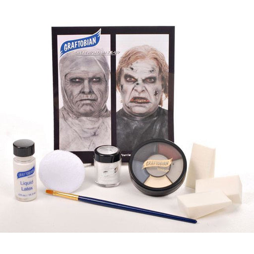 Graftobian Mummy/Zombie Makeup Kit - Make It Up Costumes