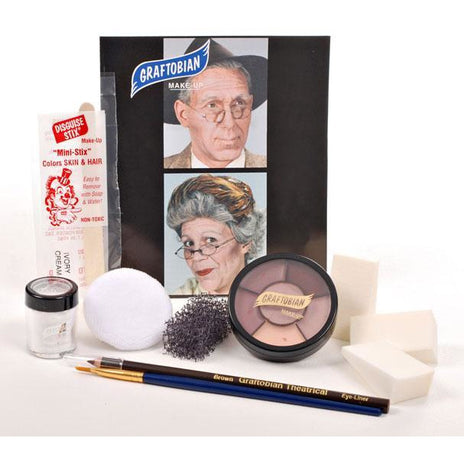 Graftobian Old Age Makeup Kit - Make It Up Costumes
