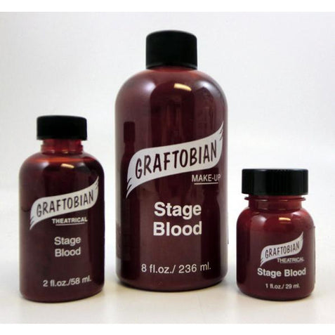Graftobian Fake Stage Blood - Make It Up Costumes