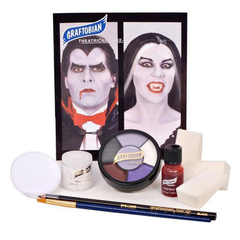 Graftobian Vampire Makeup Kit - Make It Up Costumes