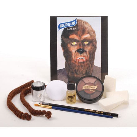 Graftobian Werewolf Makeup Kit - Make It Up Costumes
