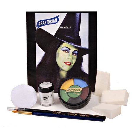 Graftobian Witch Makeup Kit - Make It Up Costumes