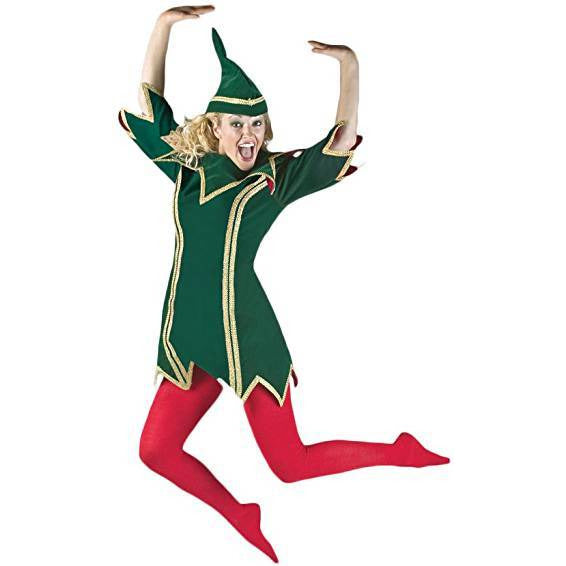 Elf, Female Green Rental Costume for local pick up only - Make It Up Costumes