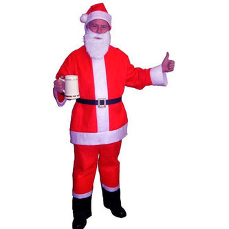 Saloon Spree Santa Suit - Make It Up Costumes