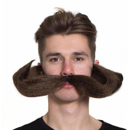 Over-sized Oompahpah Moustache - Make It Up Costumes