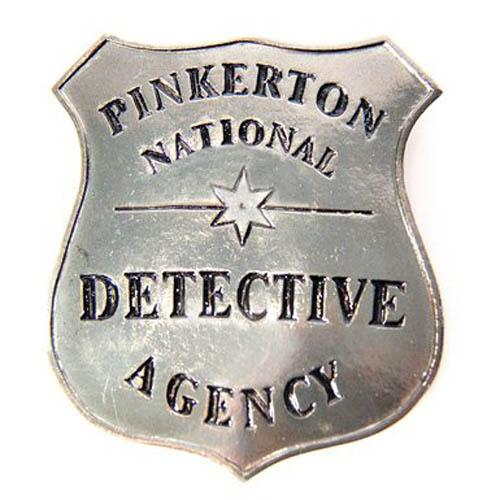 Pinkerton Badge - Make It Up Costumes