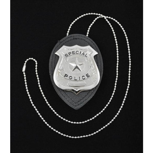 Toy Police Badge on Chain Prop - Make It Up Costumes