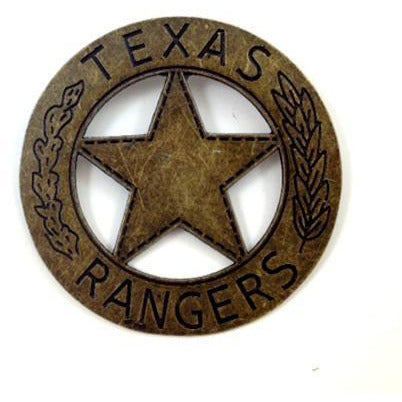 Texas Ranger Badge Replica - Make It Up Costumes
