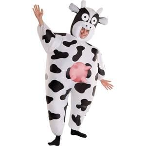 Cow Inflatable Adult Costume - Make It Up Costumes