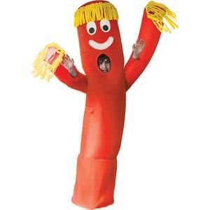 Inflatable Red Wavy Arm Man Adult Costume - Make It Up Costumes
