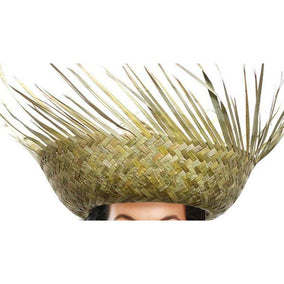 Straw Beachcomber Hat - Make It Up Costumes