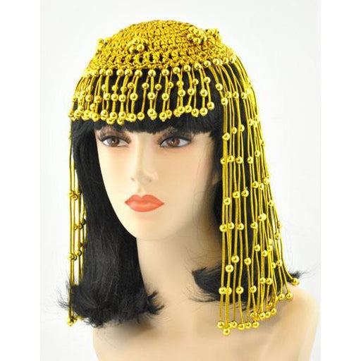 Cleopatra Beaded Headdress - Make It Up Costumes