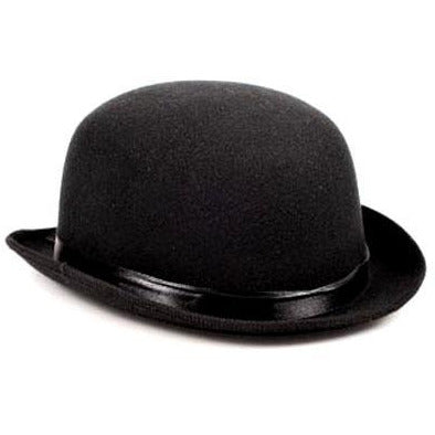 Black Felt Derby Hat - Make It Up Costumes