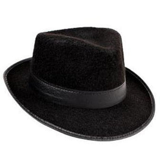 Black Fedora Hat - Make It Up Costumes